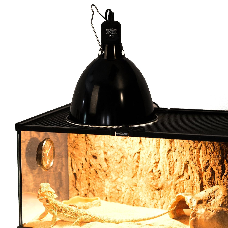 Reptizoo Mini Dome Lamp Fixture Optical Reflection Cover For Reptile