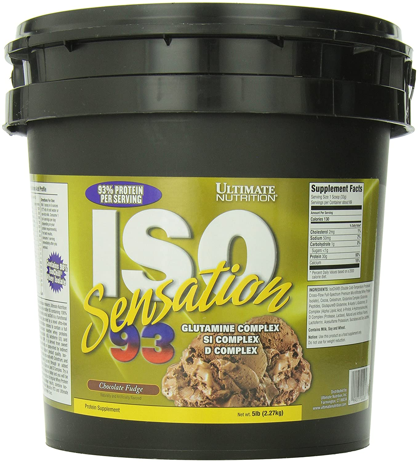 Buy Ultimate Nutrition Iso Sensation 93 5 Lbs Chocolate Fudge Creatine Monohydrate Isi 300 Gr Online At Low Prices In India