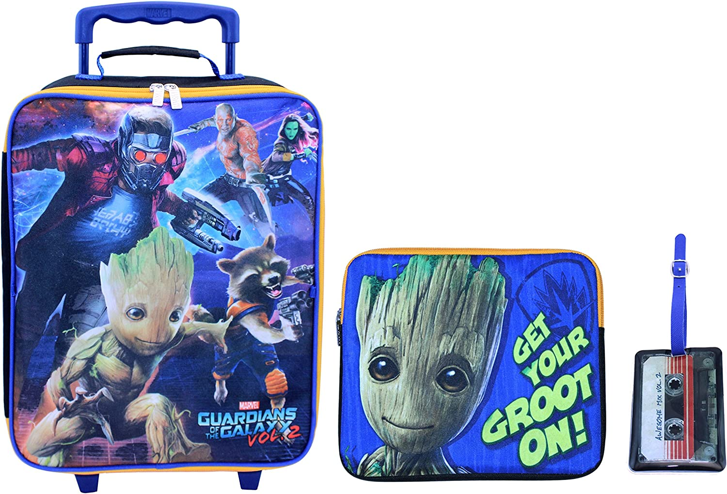 Marvel Boys Guardians of The Galaxy 3pc Set, Blue