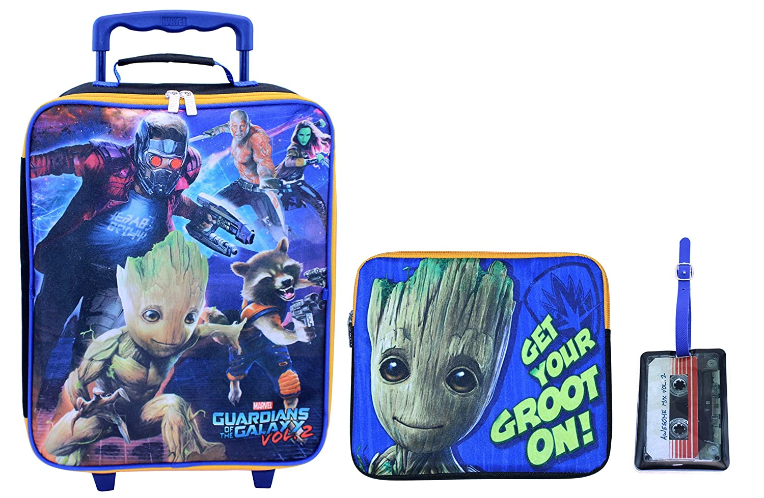 Marvel Boys' Guardians of the Galaxy 3pc Set, Blue ZG29826-SC-BL00
