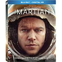 The Martian Digital HD with Ultraviolet+ Blu-ray