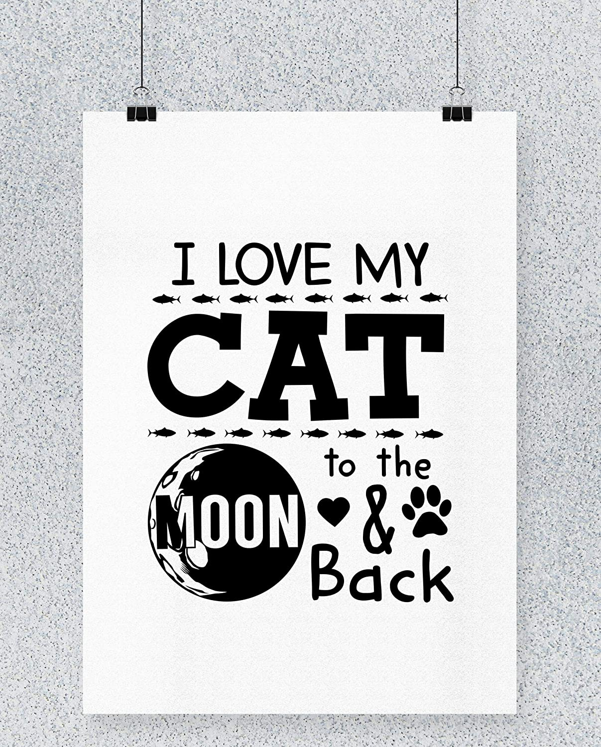 Compra Hippowarehouse I Love My Cats To The Moon and Back ...