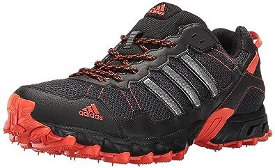 adidas Performance Men's Rockadia M Trail Runners, BlackBlackEnergy, 10