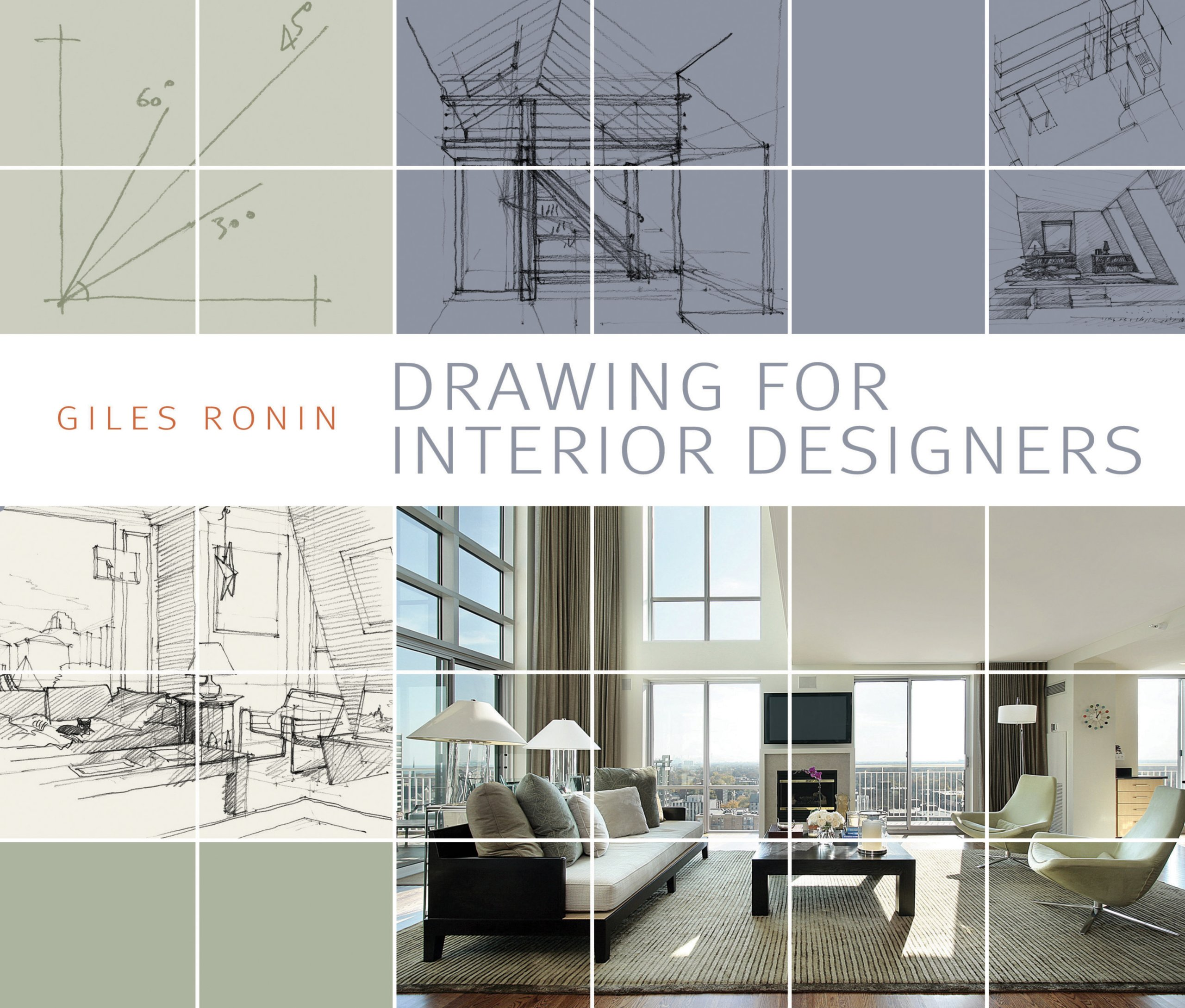 Amazon Drawing For Interior Designers 9781408129913 Gilles Ronin Books