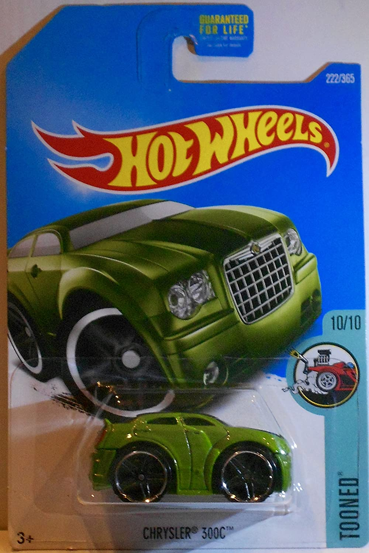 10//10 Green Tooned Chrysler 300C Hot Wheels /_HotWheels