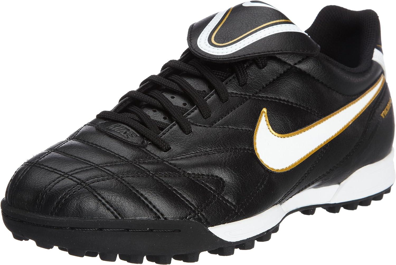 Delgado Sustancialmente Más temprano  Nike Tiempo Natural III Astro Turf Football Boots, Size UK12 Black:  Amazon.co.uk: Shoes & Bags
