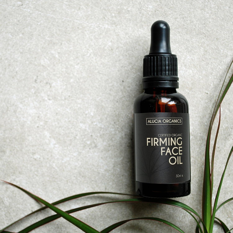 Alucia Organics aceite de cara reafirmante (Firming Face Oil ...
