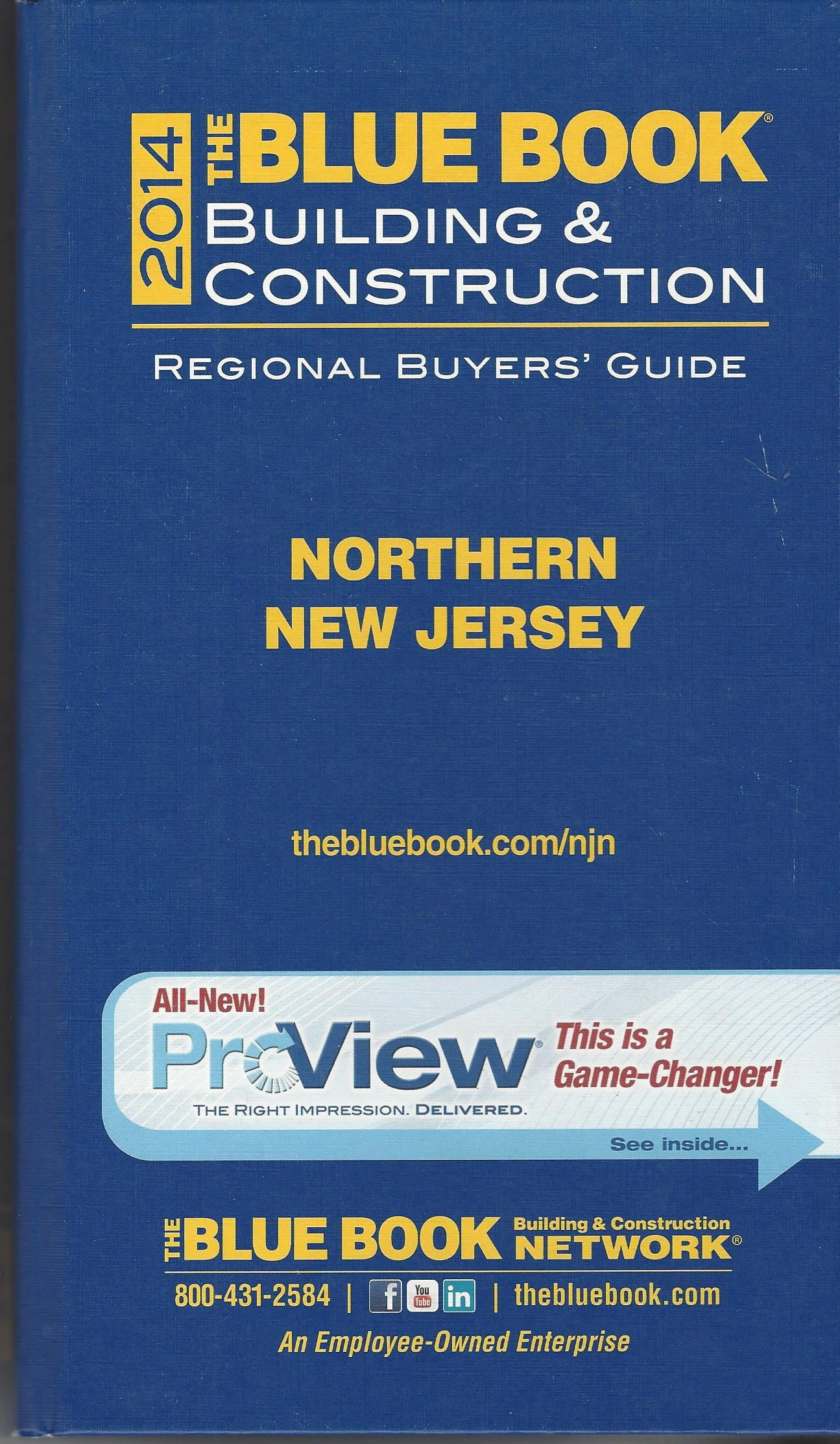 Construction Blue Book >> The Blue Book Building Construction Northern New Jersey