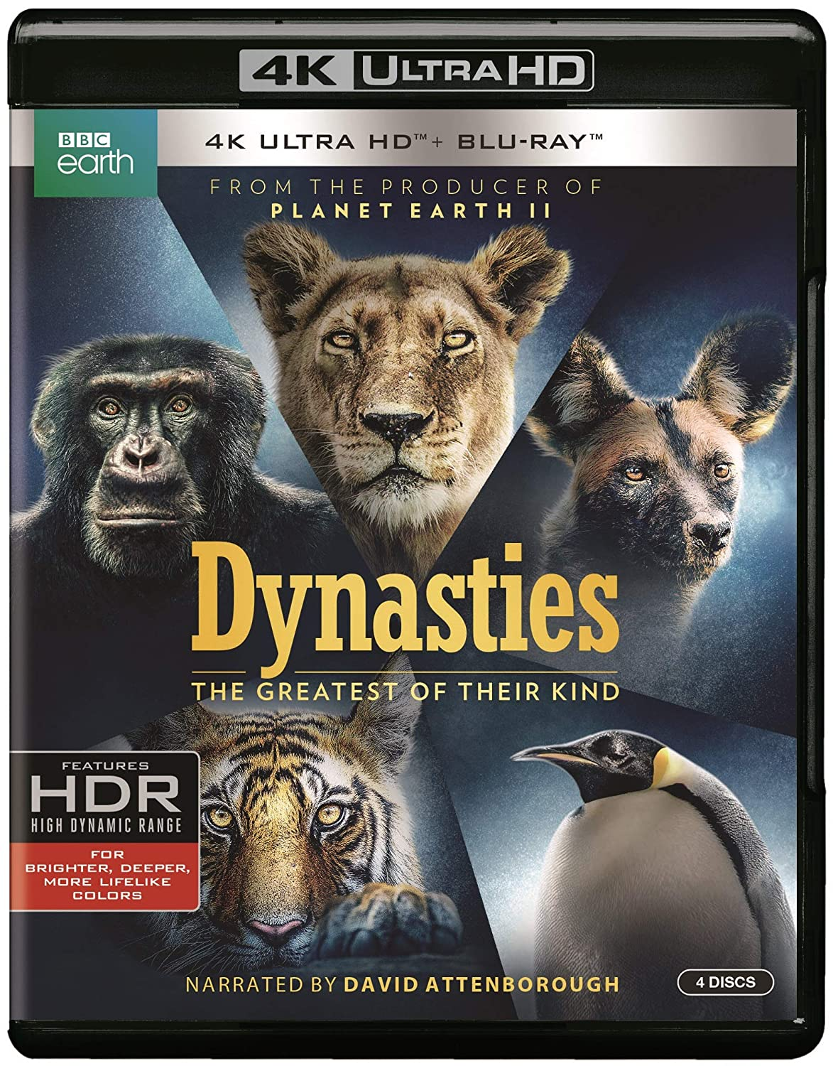 Dynasties (4K/BD) [Blu-ray]