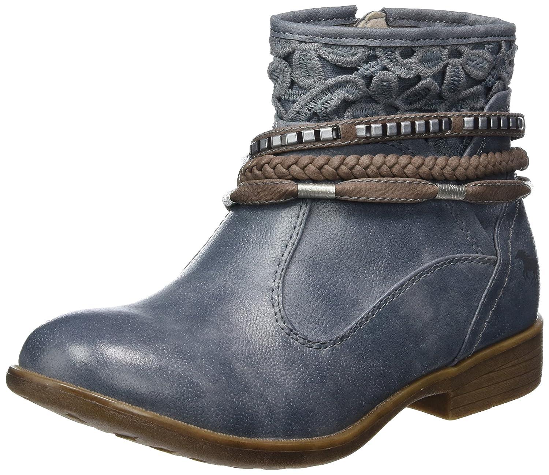 193bb3efa9f0 Mustang Mädchen 5018-510 Kurzschaft Stiefel, Blau (875 Sky), 37 EU   Amazon.de  Schuhe   Handtaschen