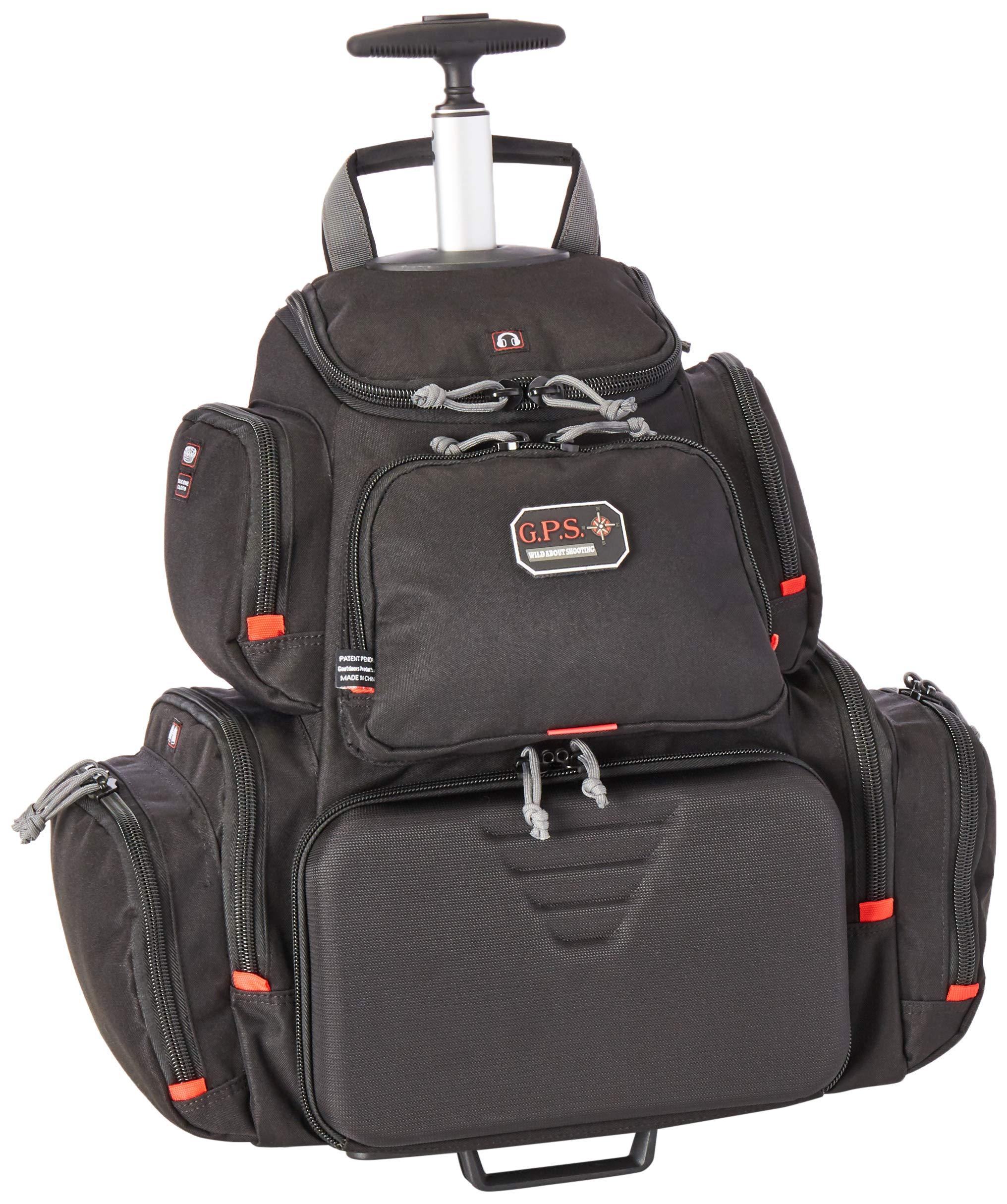 G5 Outdoors G.P.S. GPS-1711ROBP Rolling Handgunner Backpack, Black by G5 Outdoors