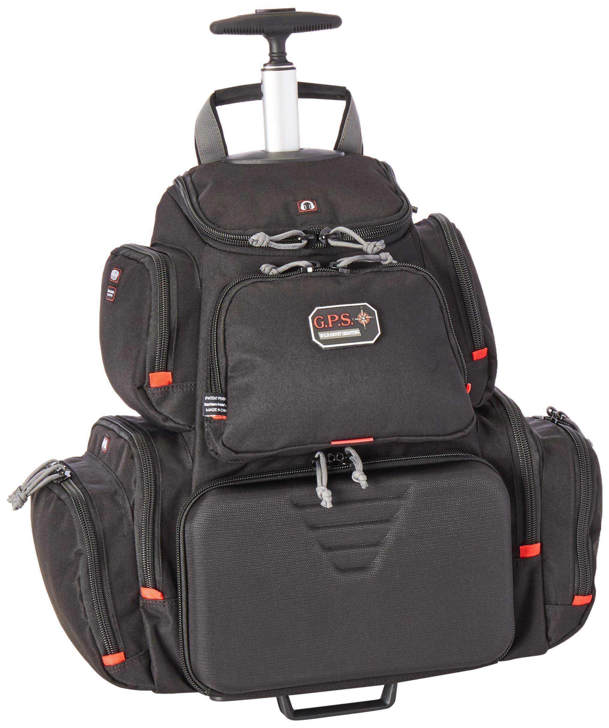 G5 Outdoors G.P.S. GPS-1711ROBP Rolling Handgunner Backpack, Black