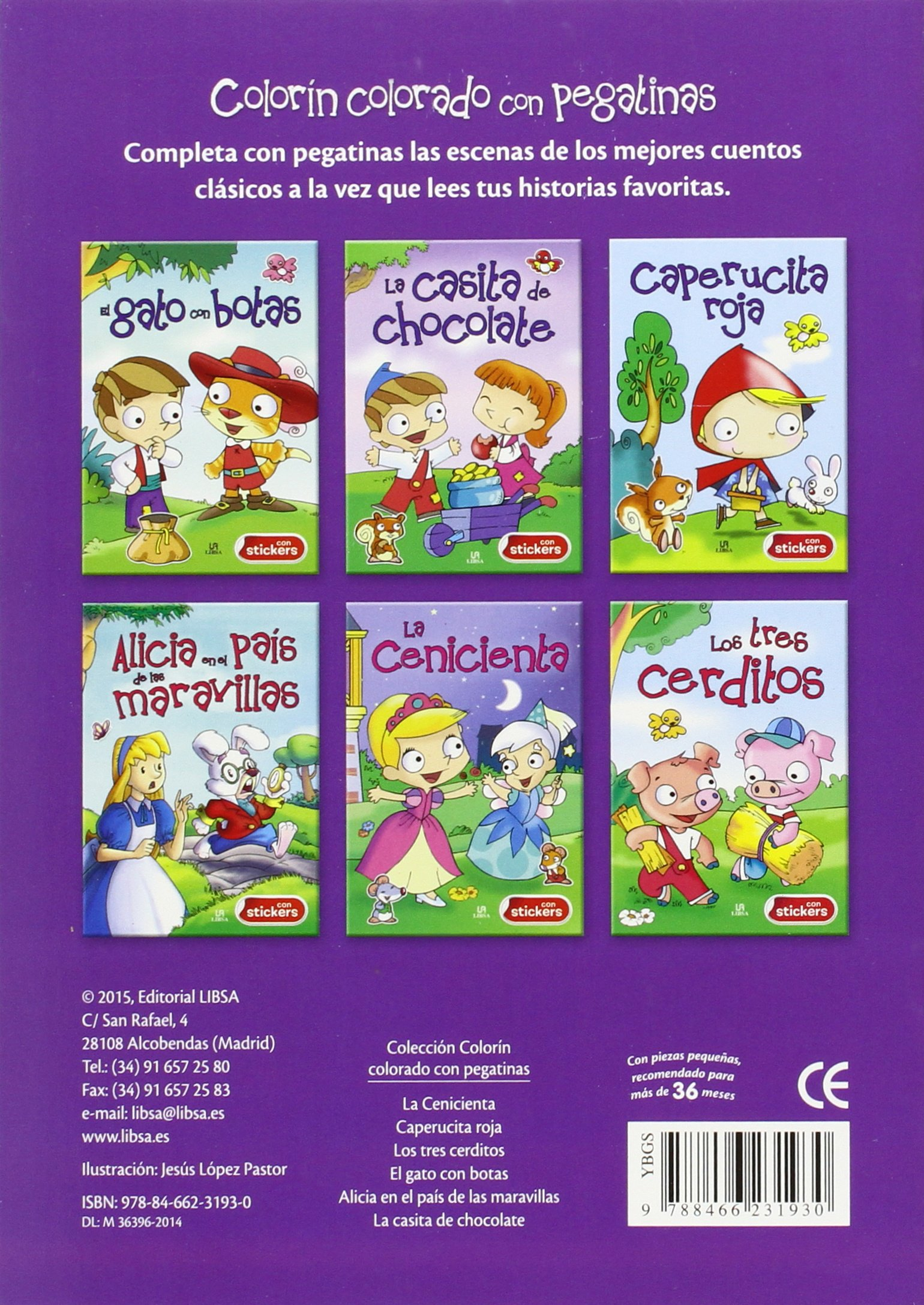 LA CASITA DE CHOCOLATE-CON STICKERS: Ediciones Winbook: 9788466231930: Amazon.com: Books