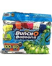 Zuru Buncho Balloons   Self Sealing Water Balloons   Multicolor   8 Bunches  