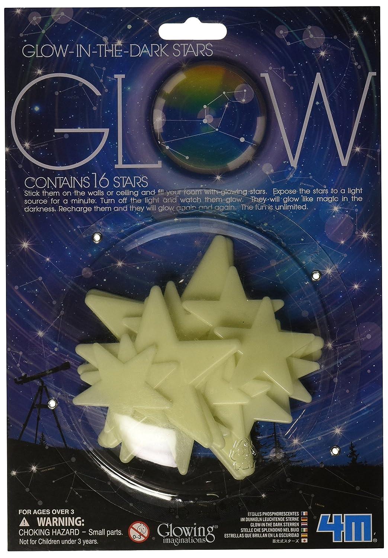 amazon com 4m glow planets and nova stars toys games