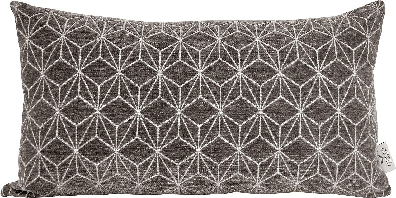 Urban Loft by Westex Spider Cream Feather Filled Decorative Throw Pillow Cushion 14 x 26