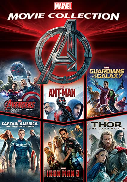 Amazon in: Buy Marvel Cinematic Universe: Phase Two