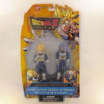 Bola de Dragón Z pack de 2 Figuras Original Colección Trunk/Vegeta ...