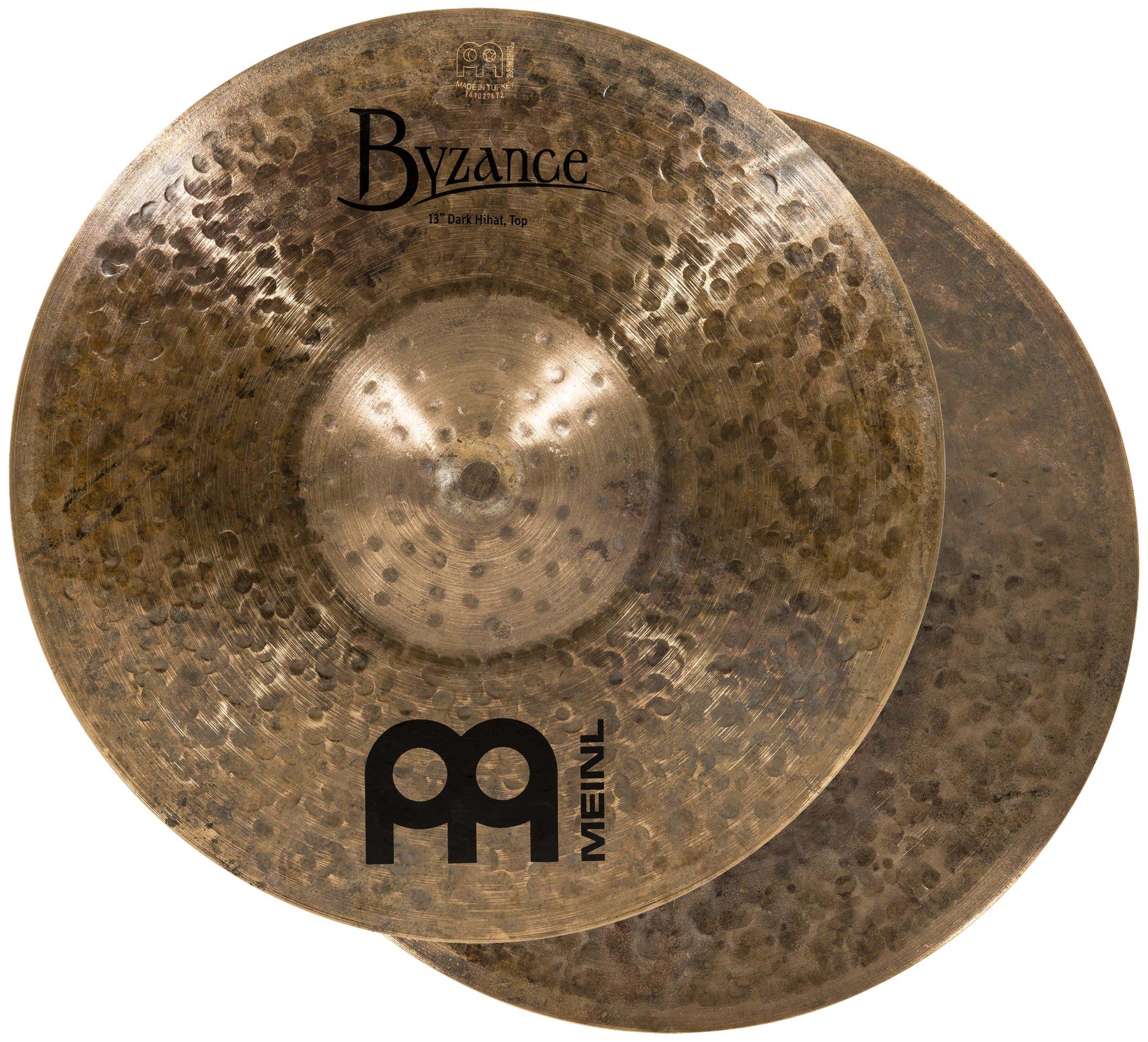 Meinl Cymbals B13DAH Byzance 13-Inch Dark Hi-Hat Cymbal Pair (VIDEO)