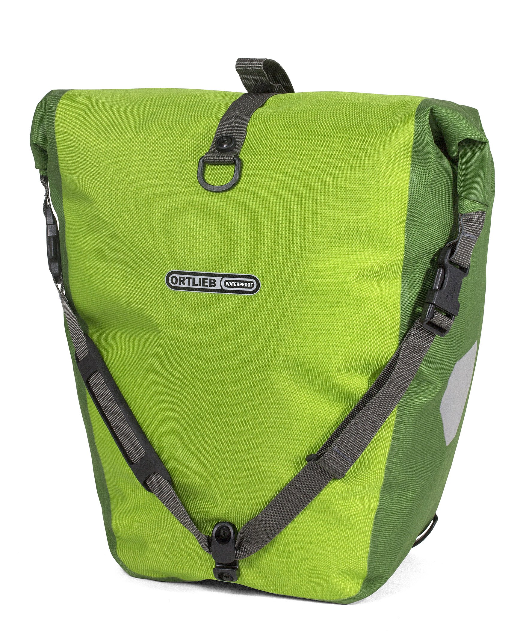 Ortlieb Back-Roller Plus QL2.1 Panniers (Pair) LIME-MOSS GREEN #F5201