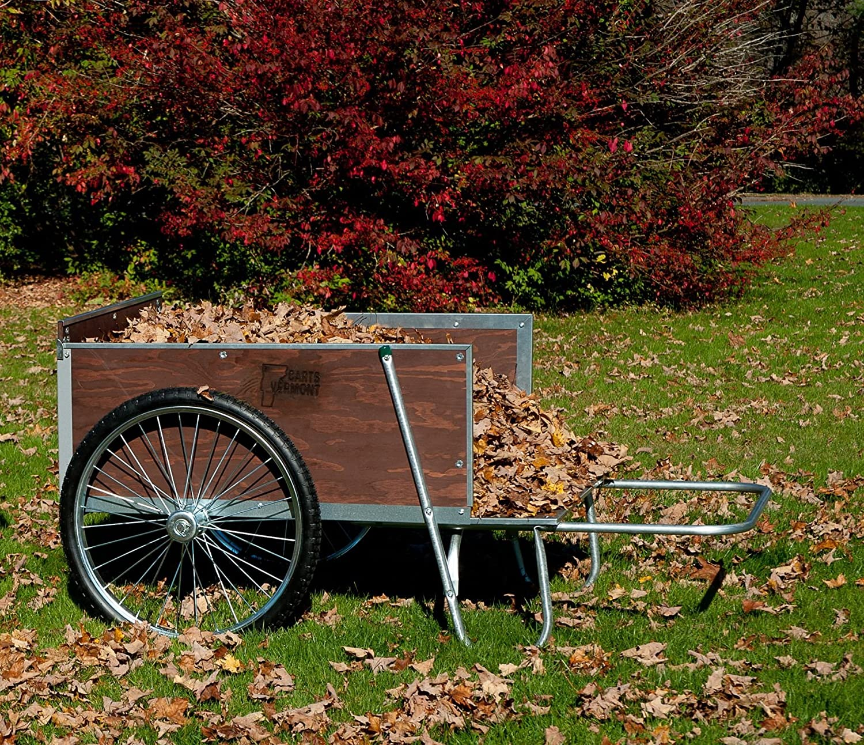 M26S Large Yard/Garden Cart with Semi-Pneumatic Wheels