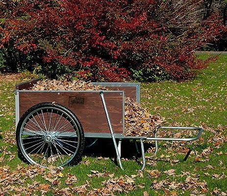 Amazoncom M26S Large YardGarden Cart with SemiPneumatic
