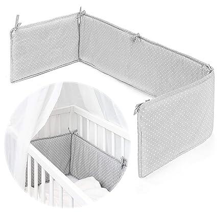 Fillikid Protector barrotes para minicuna de colecho | Chichonera para cuna adosada de bebé con superficie