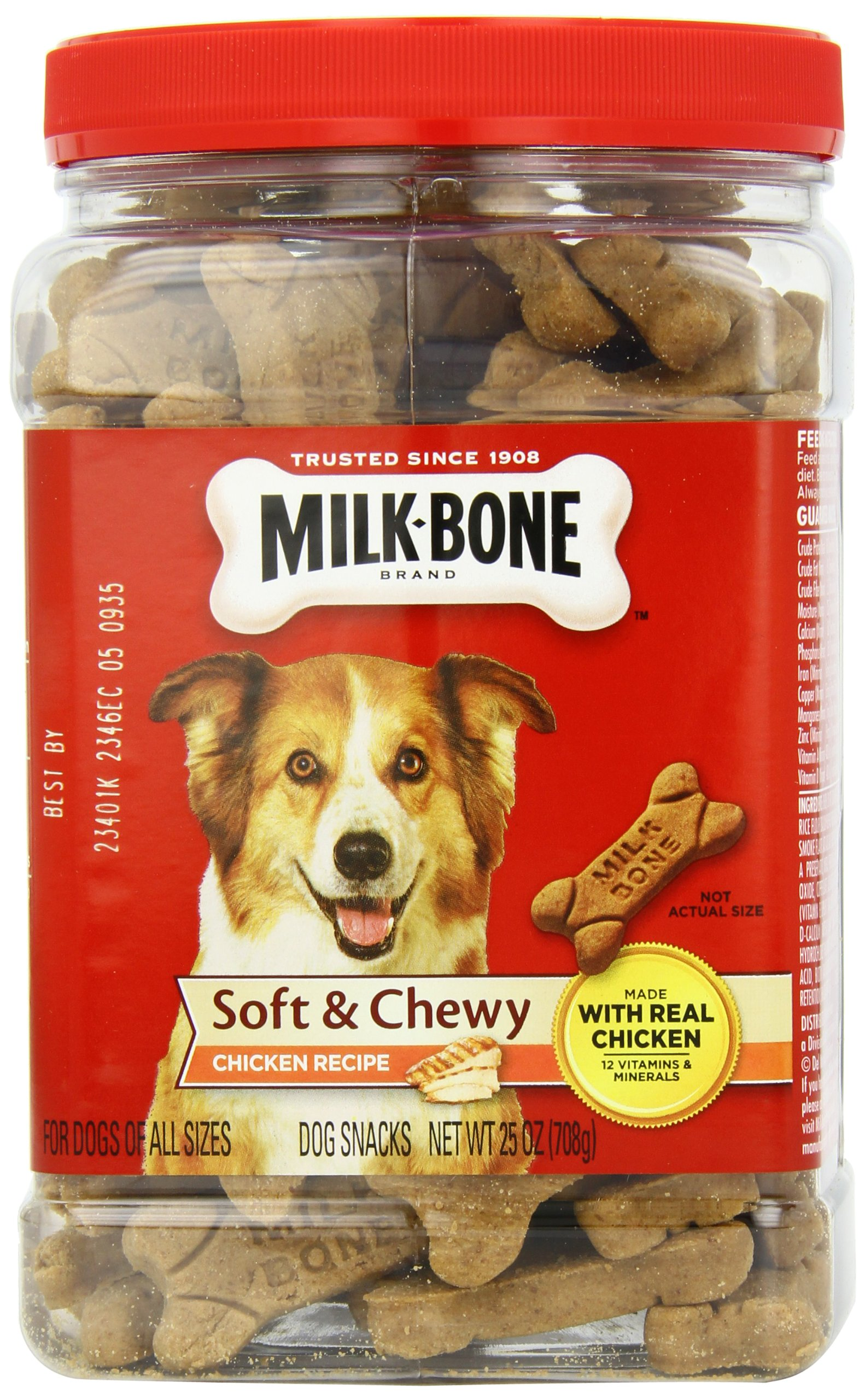 Milk-Bone Soft & Chewy Dog Treats with 12 Vitamins and Minerals 4