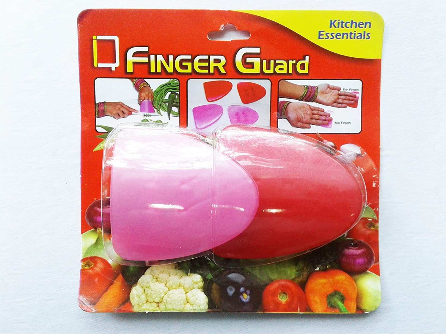 Finger Guard White cutting Vegetable & Meat – Protect your Fingers (1)