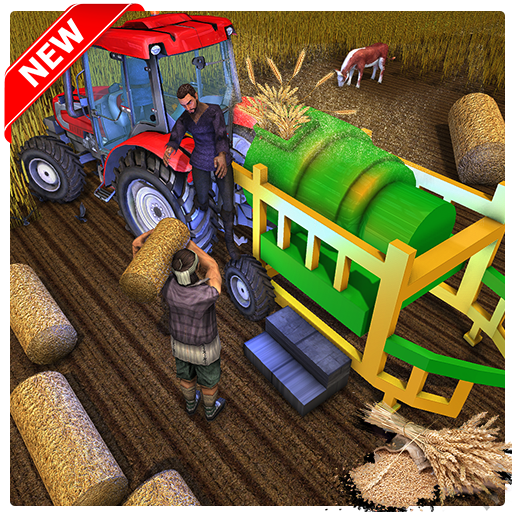 Village Tractor Harvesting Farming 2018 - Limited Pure Cotton