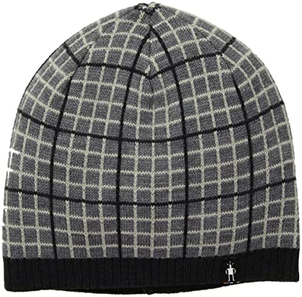 1a933b3d1ea Amazon.com  SmartWool Heritage Square Hat (Charcoal Heather) One ...