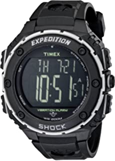Amazon.com  Timex Men s TW4B02500 Expedition Grid Shock Black Resin ... 71b117d9ec