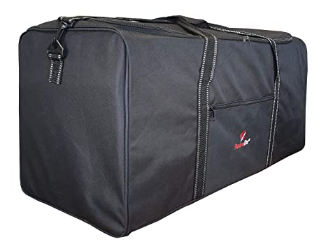 Roamlite Bolsa de Viaje Extra Grande - Bolso de Deporte y Gimnasio Tamaño Equipaje - Bolsas de Viaje de Carga Negro Liso - 76 cm x 34 cm x 37 cm y 0,8 ...
