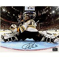 $69 » Tuukka Rask Boston Bruins Signed Autographed Net Cam Save Vs Buffalo 8x10