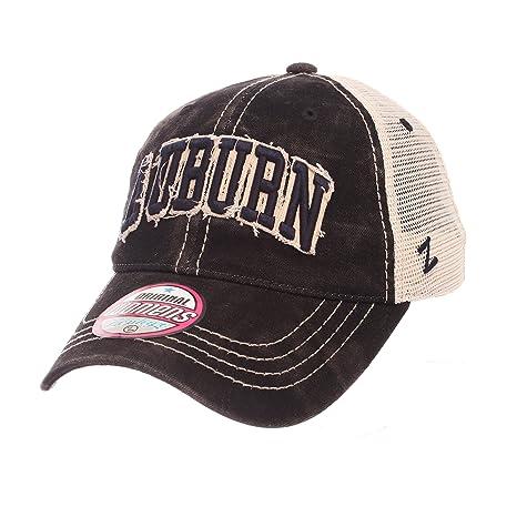 d1e4c89d ZHATS NCAA Auburn Tigers Adult Women Dixie Women's Relaxed Hat, Adjustable,  Black