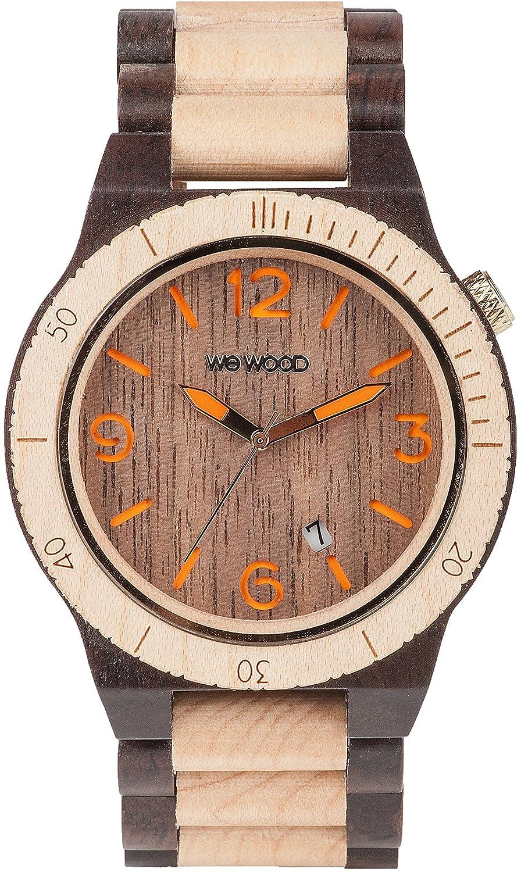 [ウィウッド]WEWOOD 腕時計 ウッド/木製 ALPHA CHOCO BEIGE カレンダー 9818095 メンズ 【正規輸入品】 B00DN29DN2