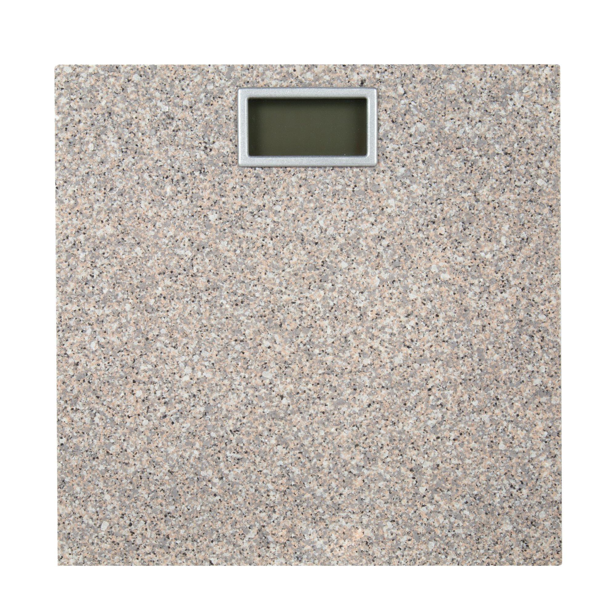 Bodico, Modern Granite Scale, 11 x 11 inches, Beige