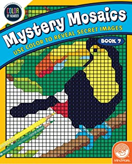 Color By Number Mystery Mosaics Book 7