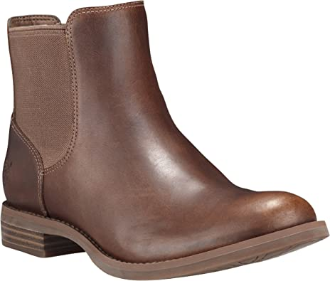 Timberland Damen Magby Low Chelsea Boots, Braun (Light Brown