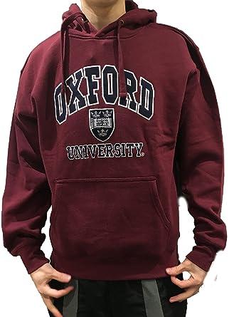 Sudadera con Capucha Oficial de la Universidad de Oxford - Borgoña - Ropa Oficial de la Universidad Famosa de Oxford: Amazon.es: Ropa y accesorios