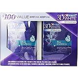 Crest 3D Whitestrips 1-Hour Express Dental Whitening Kit, (Pack of 2)
