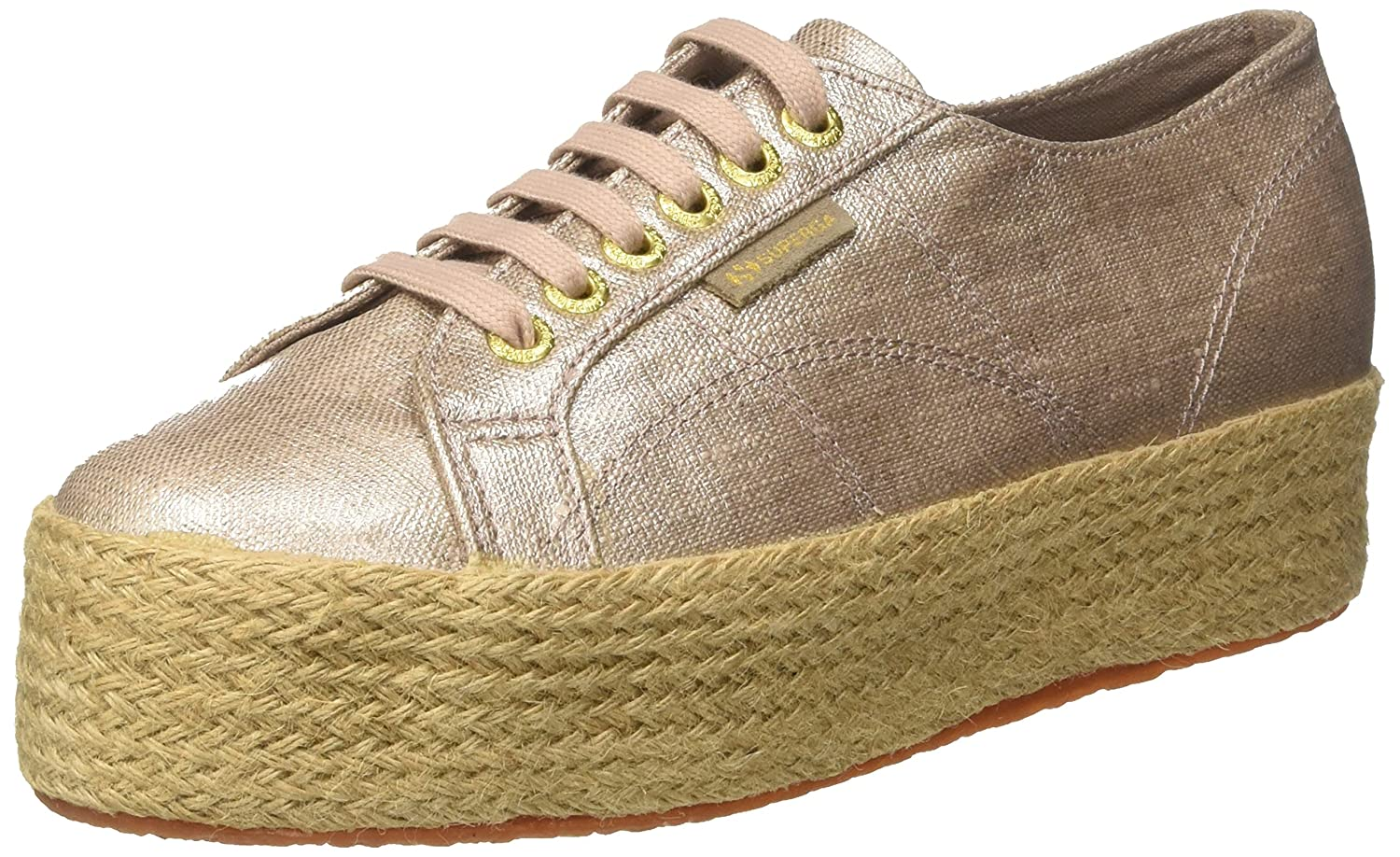 Superga Unisex-Erwachsene 2790 Linrbrropew Low-top Sand