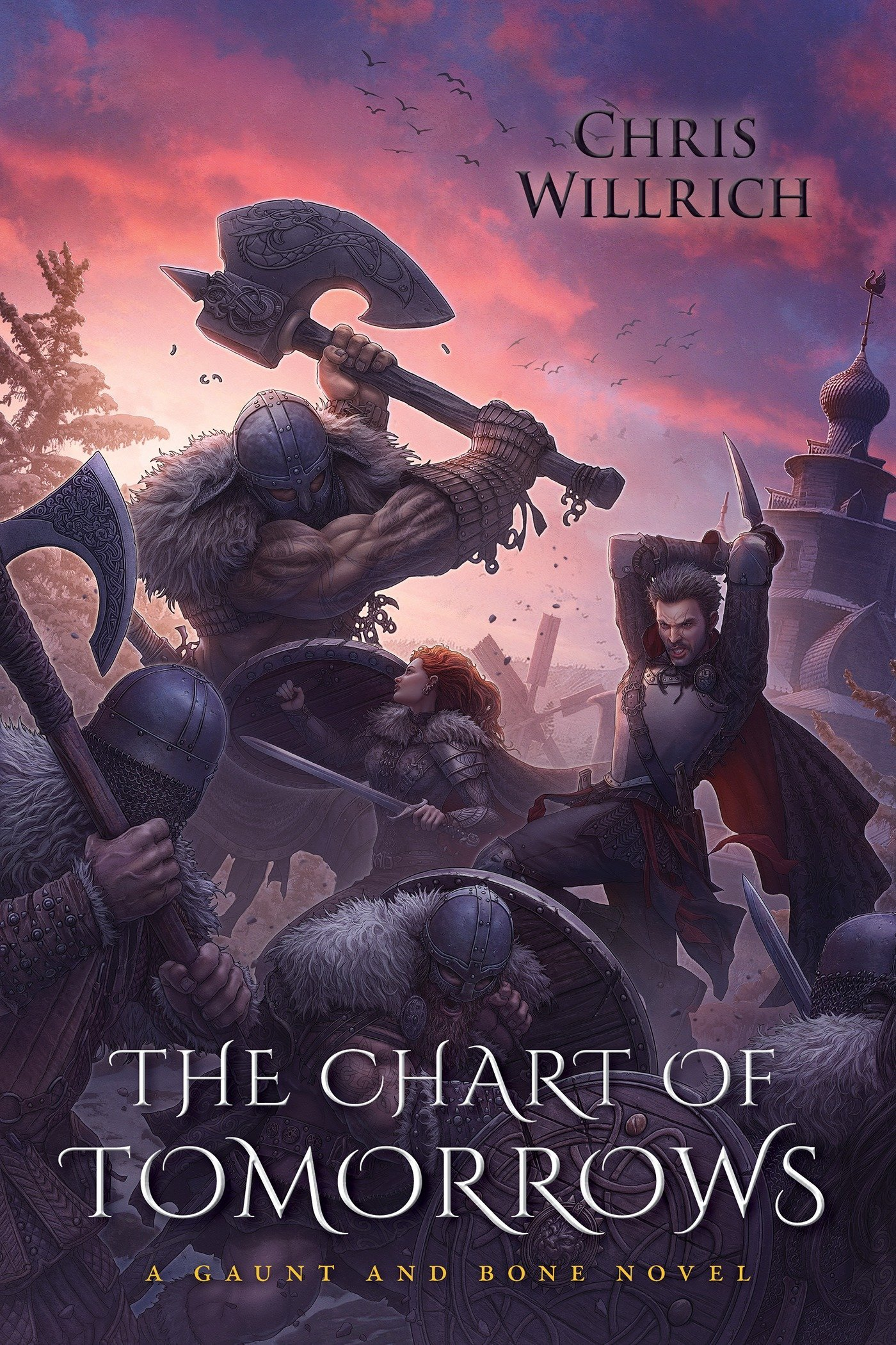 The Chart of Tomorrows: A Gaunt and Bone Novel PDF Text fb2 book