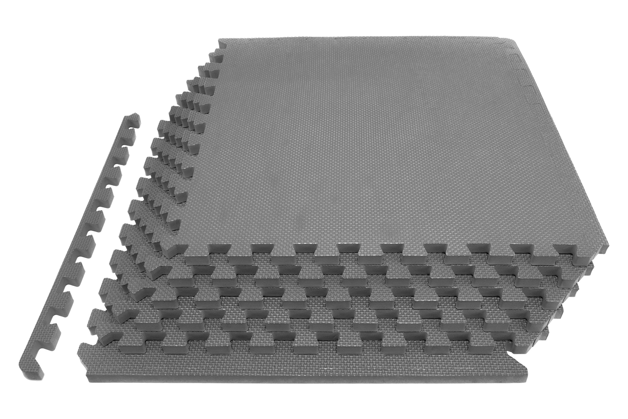 Prosource Fit Extra Thick Puzzle Exercise Mat 3/4 by ProsourceFit