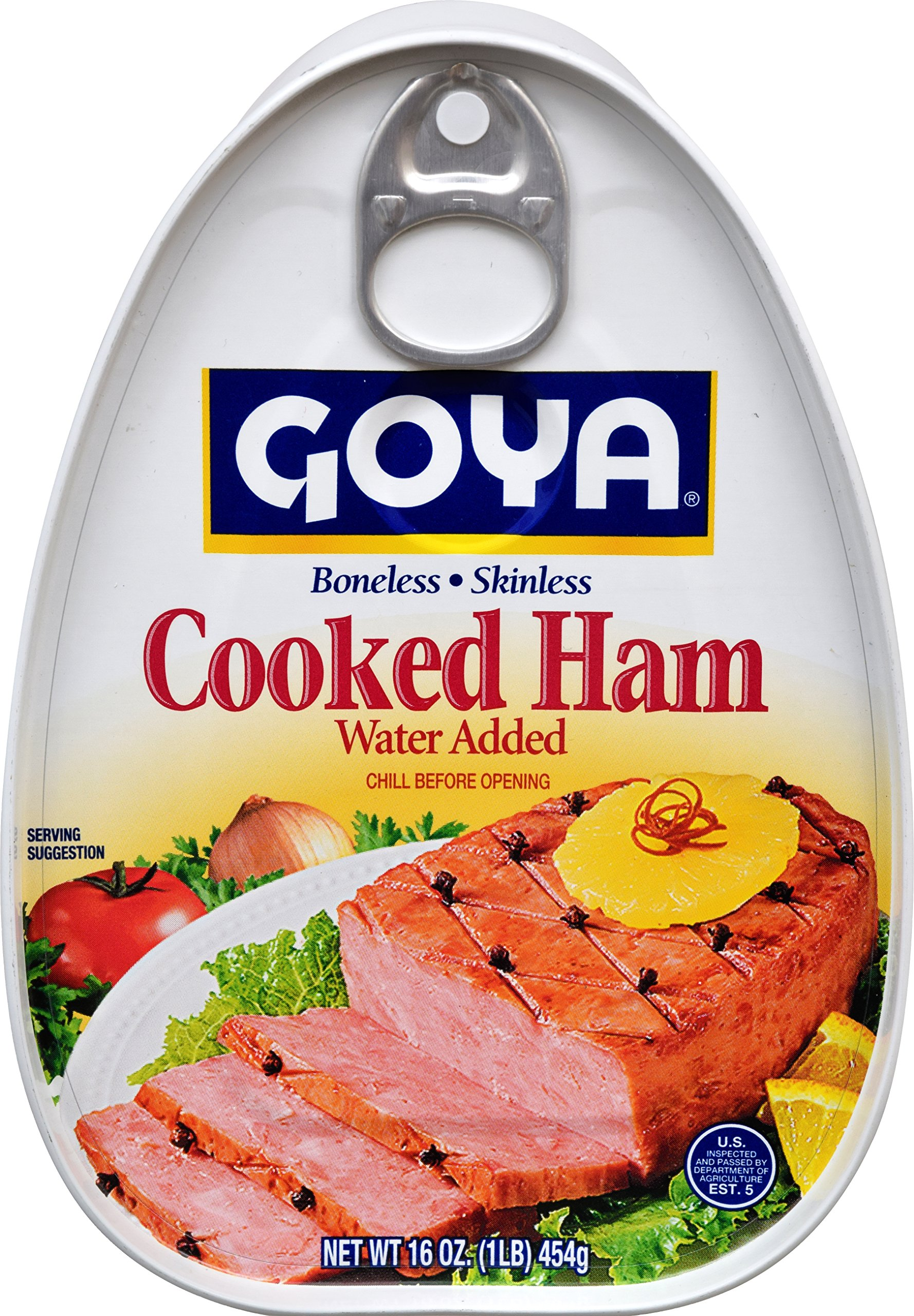 Goya Foods Cooked Ham, 16 Ounce (pack of 12)