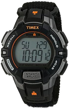 timex menu0027s t5k8349j ironman rugged 30 digital display quartz black watch