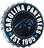 Carolina Panthers NFL Bottle Cap Wall Sign