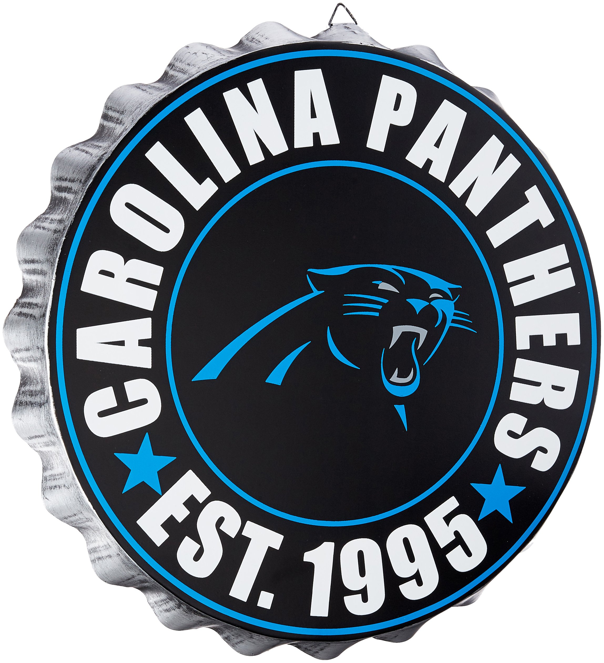 Carolina Panthers 2016 Bottle Cap Wall Sign by FOCO