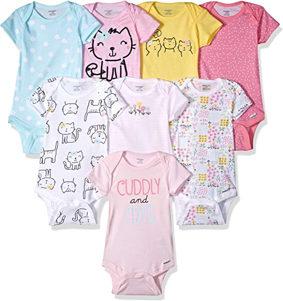 Newborn Baby Boys Bodysuit Short-Sleeve Onesie Sale Print Outfit Summer Pajamas