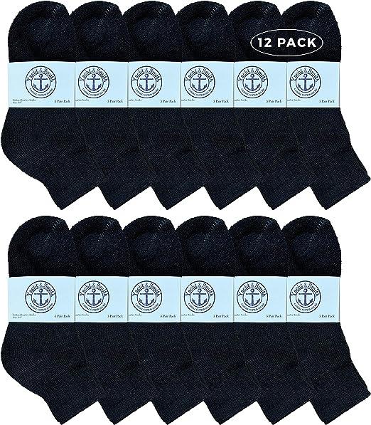 Sock Size 4-6 White Crew Socks For Kids Kids Wholesale Cotton Crew Socks